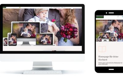 Hochzeitswebseite