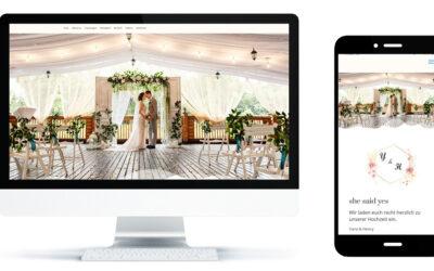 Hochzeitsseite Style 3